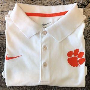 Nike Clemson Golf Polo, Medium